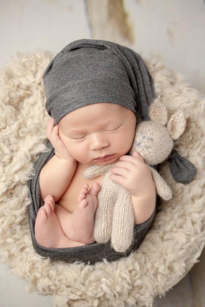 Best professional newborn photo of baby for boy in Denver, Colorado